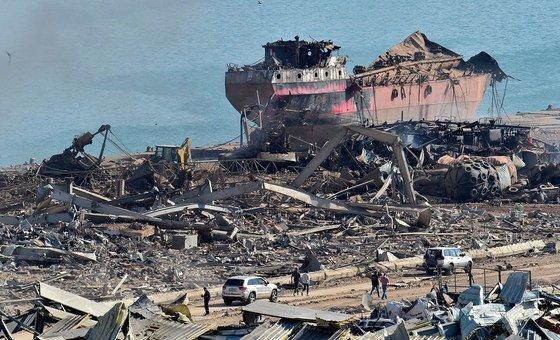 Danos no porto da cidade, o maior do Líbano, podem dificultar entrada de alimentos no país