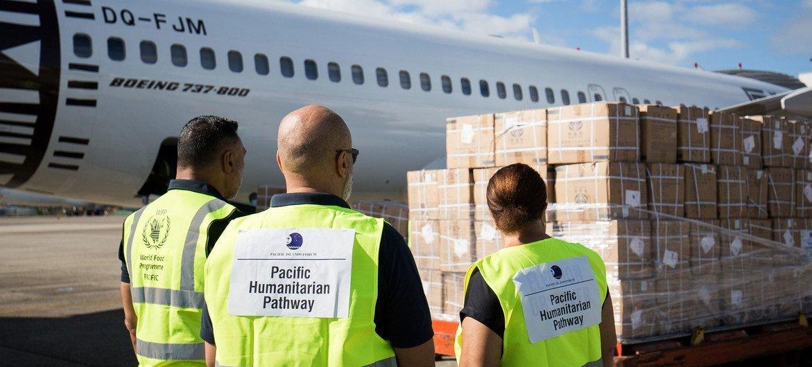 联合国正在运送重要的医疗物资,以支持太平洋地区的2019冠状病毒病反应行动。