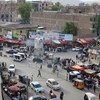 A view of the centre of Jalalabad, a city in eastern Afghanistan. (file)