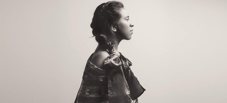 La cantantautora maya Sara Curruchich.