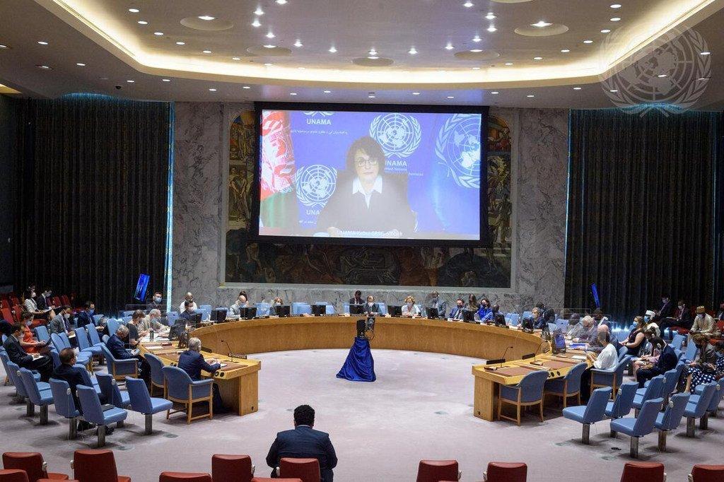 Réunion du Conseil de sécurité sur l'Afghanistan.
