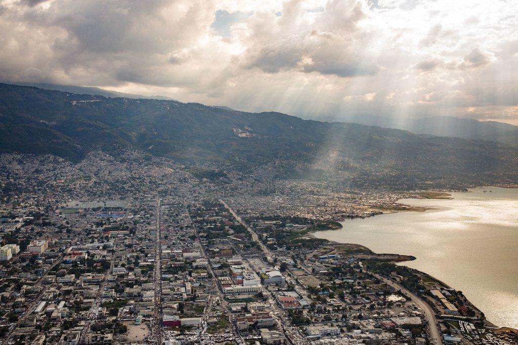 海地首都太子港。