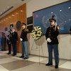 Cérémonie en hommage aux employés de l'ONU tués au service de l'Organisation, au siège de l'ONU, le 6 septembre 2019.