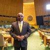 El presidente electo de la Asamblea General de la ONU, Abdulla Shahid