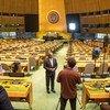 """Abdulla Shahid destaca que Assembleia Geral das Nações Unidastem """"autoridade moral para definir padrões"""""""