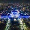 किर्गिज़स्तान की राजधानी बिशकेक में एक ऐतिहासिक इमारत को यूनीसेफ़ की एक मुहिम के तहत रौशन किया गया है.