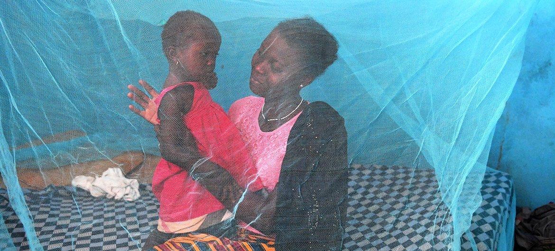 मलेरिया फैलाने वाले मच्छरों से बचाव के लिये, मच्छरदानी लगाना, एक महत्वपूर्ण ऐहतियाती उपाय है.