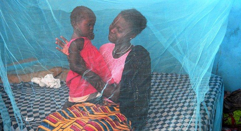 Los mosquiteros son una herramienta importante para protegerse de los piquetes de mosquitos transmisores de la malaria.