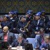 Réunion du Conseil de sécurité sur les opérations de maintien de la paix le 6 novembre 2019.