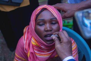 """منظمة الصحة العالمية قالت إنها تزيد من استعداداتها """"لمنع انتشار محتمل للكوليرا"""" في ولاية الخرطوم، عاصمة السودان. (6 نوفمبر/تشرير الثاني 2019)"""