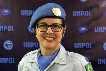 Lorena Lima Daleprane representa o Brasil na Missão da ONU no Sudão do Sul, a Unmiss.