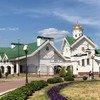 白俄罗斯首都明斯克的圣灵主教大教堂。