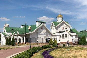 Catedral do Espírito Santo em Minsk, Belarus