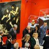 """Secretary-General António Guterres at the unveiling of """"Recovered art: the art of saving art"""". (7 January 2020)"""
