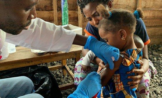 A Organização Mundial da Saúde aliada ao governo congolês e outros parceiros estão buscando US$ 40 milhões para ampliar a campanha de imunização a crianças entre 5 e 14 anos.