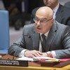 联合国反恐怖主义办公室负责人、副秘书长弗拉基米尔·沃龙科夫向安理会介绍恐怖行为对国际和平与安全造成的威胁。