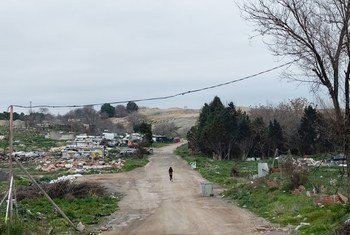 Cañada Real, un bidonville en Espagne.