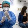 哥伦比亚是美洲第一批通过新冠疫苗全球获取机制接受新冠疫苗的国家之一。