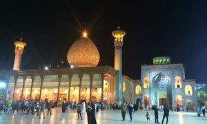 伊朗设拉子的一座清真寺