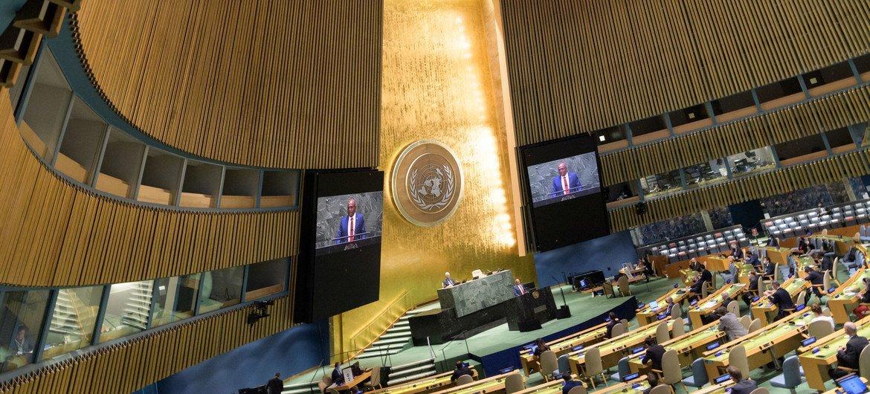 ONU acolheu DebateTemático deAltoNível sobre oOceano e o Objetivo de Desenvolvimento Sustentável 14 sobre a Vida Debaixo da Água