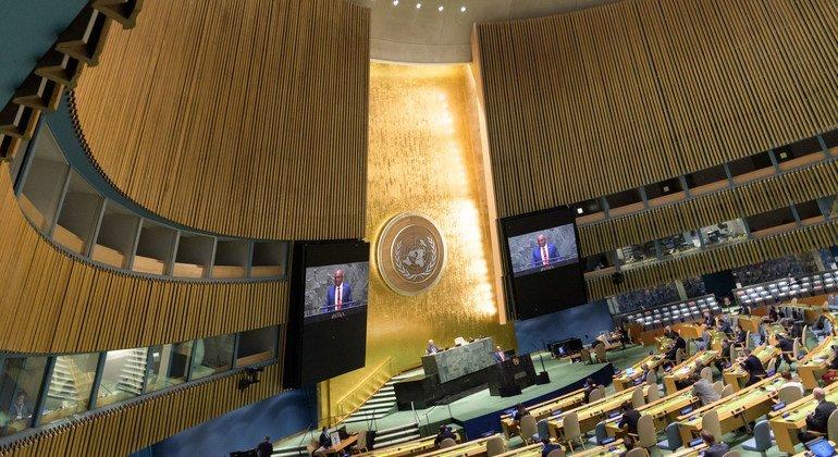 В Генеральной Ассамблее ООН обсудили вопросы борьбы с изменением климата.
