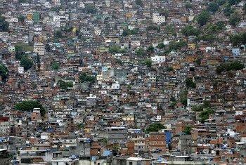 Favela no Rio de Janeiro, Brasil