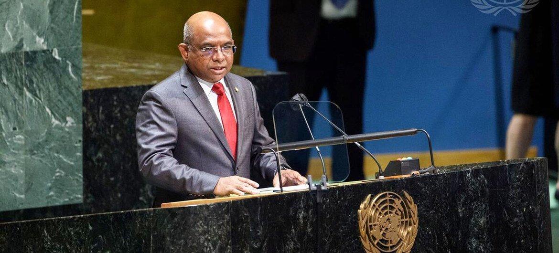 Abdulla Shahid, ministro de Relaciones Exteriores de Maldivas, será el próximo presidente de la Asamblea General de la ONU.