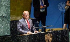 Глава МИД Мальдив Абдулла Шахид избран Председателем 76-й сессии Генеральной Ассамблеи ООН