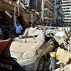 انفجار مميت في مرفأ بيروت يحدث صخبا في العاصمة اللبنانية.