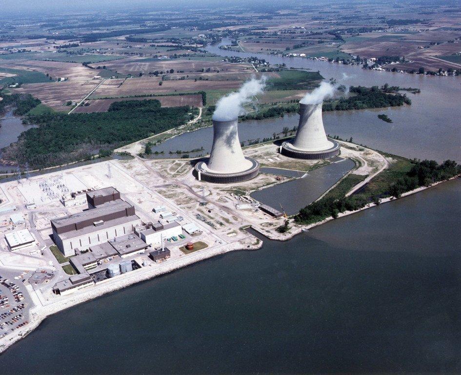 Une centrale nucléaire dans l'Etat du Michigan, aux Etats-Unis.