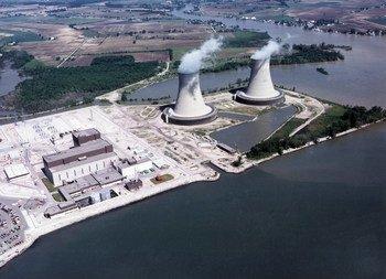 अमेरिका के मिशिगन में एनरिको फ़र्नी परमाणु ऊर्जा संयंत्र.