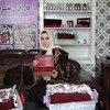 تفتح كريمة المجال أمام سائر النساء في أفغانستان للدخول إلى قطاع إنتاج الزعفران