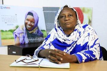 نوال حسن عثمان ناشطة سودانية في مجال النوع الاجتماعي