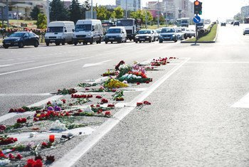 Since August 2020, Minsk and other cities in Belarus have seen mass protests with many calling for an end to excessive force used by the police.