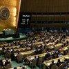 الجمعية العامة للأمم المتحدة تصوت على ضرورة إنهاء الحصار الاقتصادي والتجاري والمالي الذي تفرضه الولايات المتحدة على كوبا.