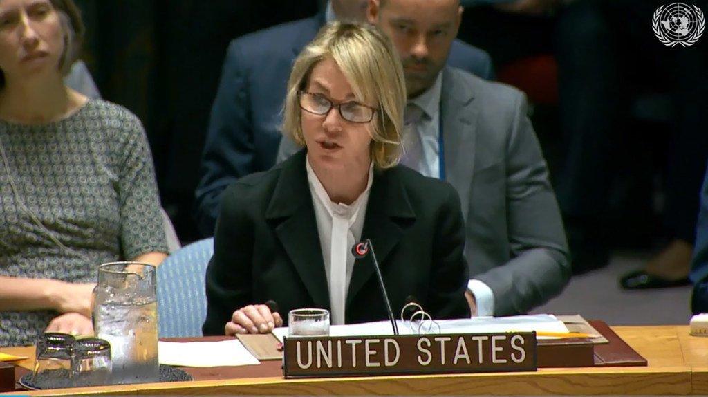 Kelly Craft, Représentante permanente des Etats-Unis auprès des Nations Unies à New York (photo d'archives).