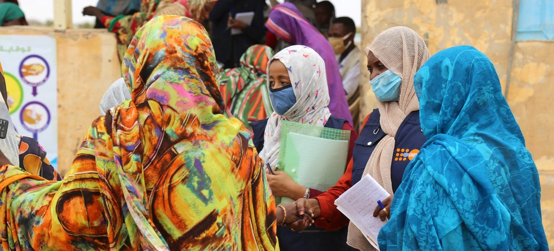 El UNFPA apoya espacios de asistencia para las mujeres.