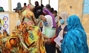 The UN Population Fund (UNFPA) has supported women-friendly spaces in Sudan.