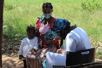 Agência da ONU promove campanhas para mulheres deslocadas e nas comunidades