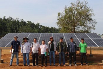 Solar power has improved the livelihoods of local people.
