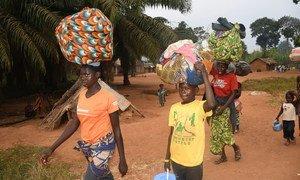 Decenas de miles de centroafricanos huyeron hacia los países vecinos debido a la violencia electoral.