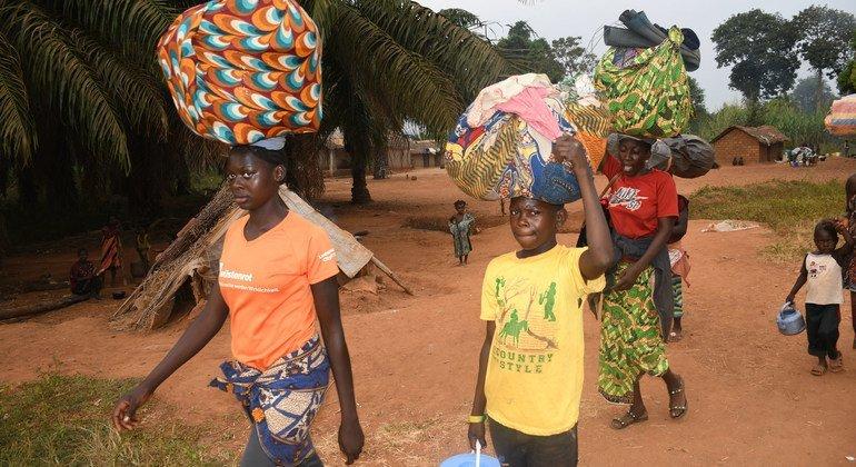 中非共和国:流离失所人数突破12万新的袭击导致一名联合国维和人员死亡