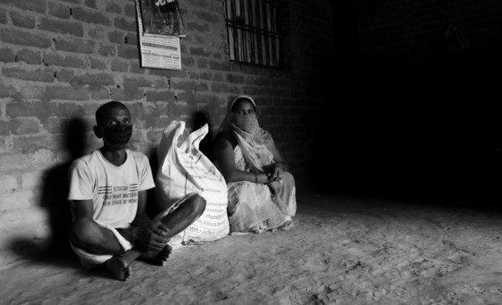 भारत में कोविड महामारी के दौरान खाद्य असुरक्षा से जूझ रहे कमज़ोर तबके के लोगों को विश्व खाद्य कार्यक्रम खाद्य सहायता प्रदान कर रहा है.