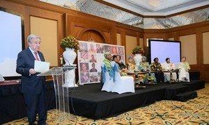 Chefe da ONU apresenta livro sobre mulheres defensoras da paz, em Adis Abeba