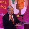 El Secretario General António Guterres en un evento paralelo a la 33a Cumbre de la Unión Africana en Addis Abeba
