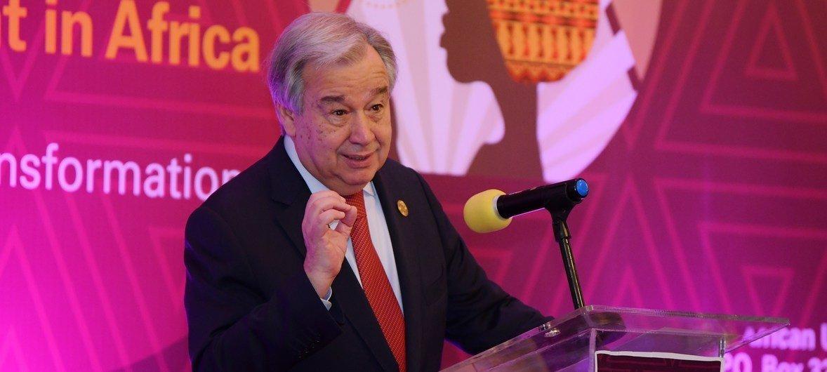 Chefe da ONU destaca necessidade urgente de igualdade entre mulheres e homens