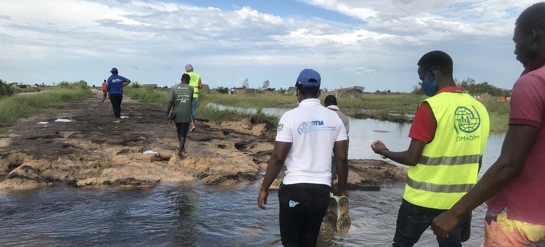 A OIM, o governo, outras agências das Nações Unidas e parceiros tem um desafio a cumprir na resposta humanitária aos afetados pelo ciclone Eloíse