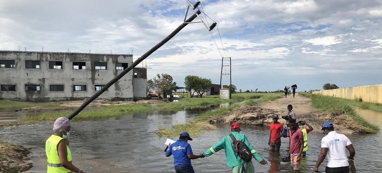 Agência da ONU fez um levantamento das necessidades locais nas áreas afetadas pelo ciclone em Moçambique