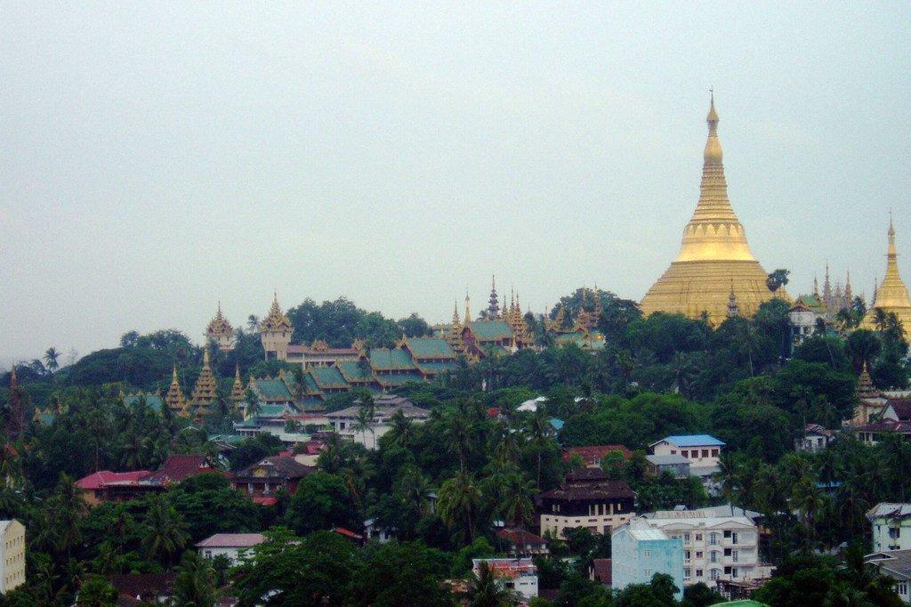 Vur sur Yangon, la principale ville du Myanmar