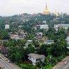 Вид на Янгон, Мьянма